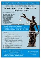 Pravo, pravda i pravednost u godini vjere